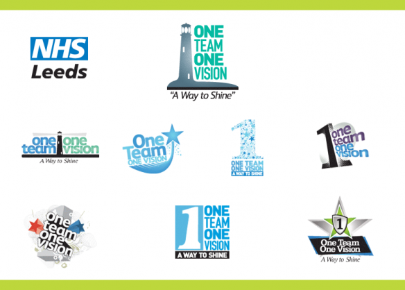 nhs-one-team-one-vision-logos