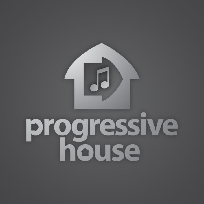 Progressive House music logo designed by 30two