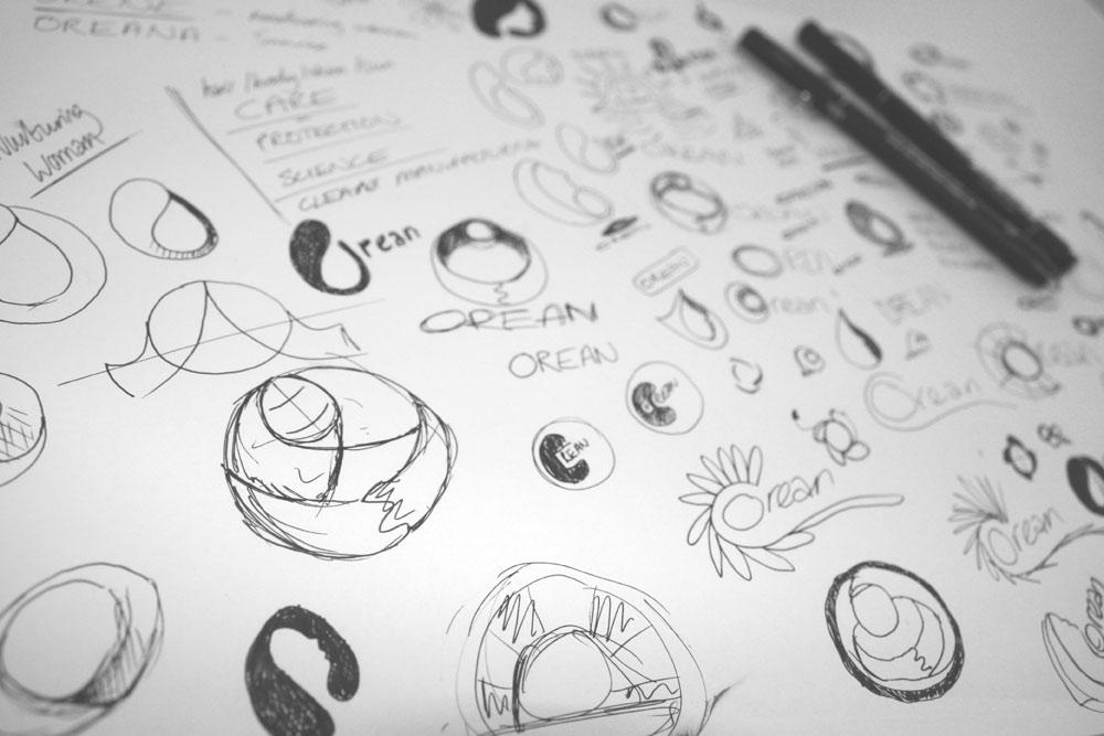 Orean Personal Care - Identity Design - 30two