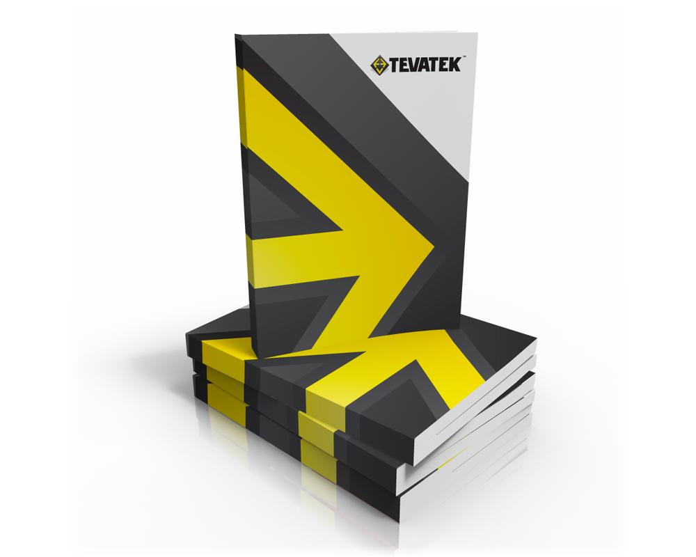 Tevatek catalogue design concept